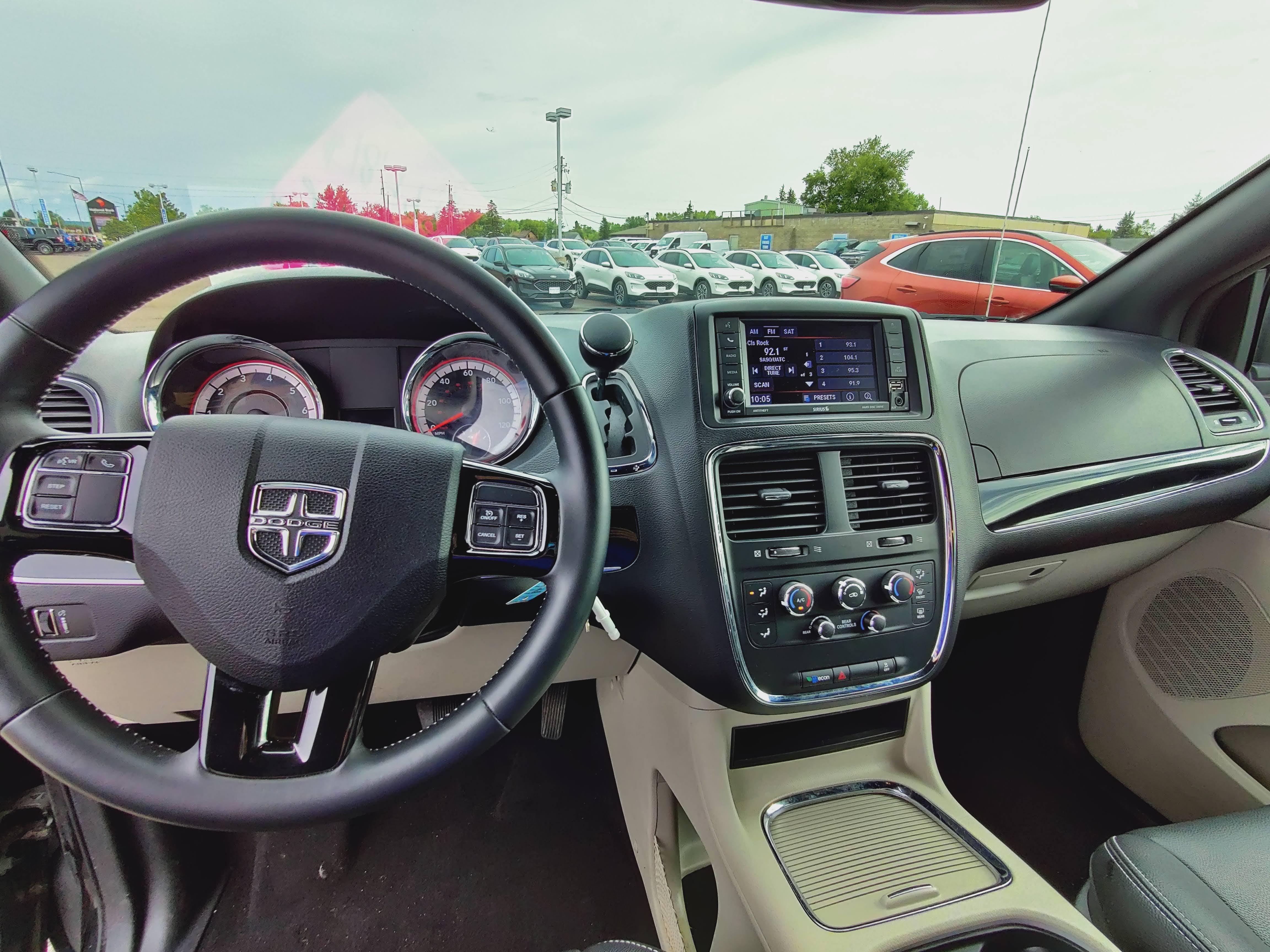 Dodge GC Interior