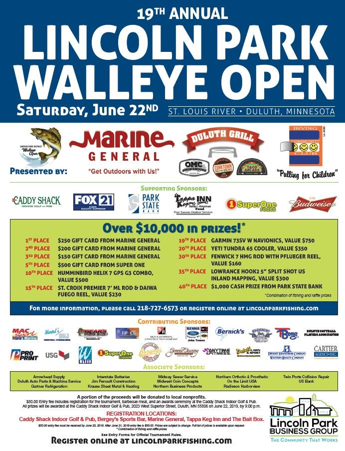 19th Annual Lincoln Park Walleye Open