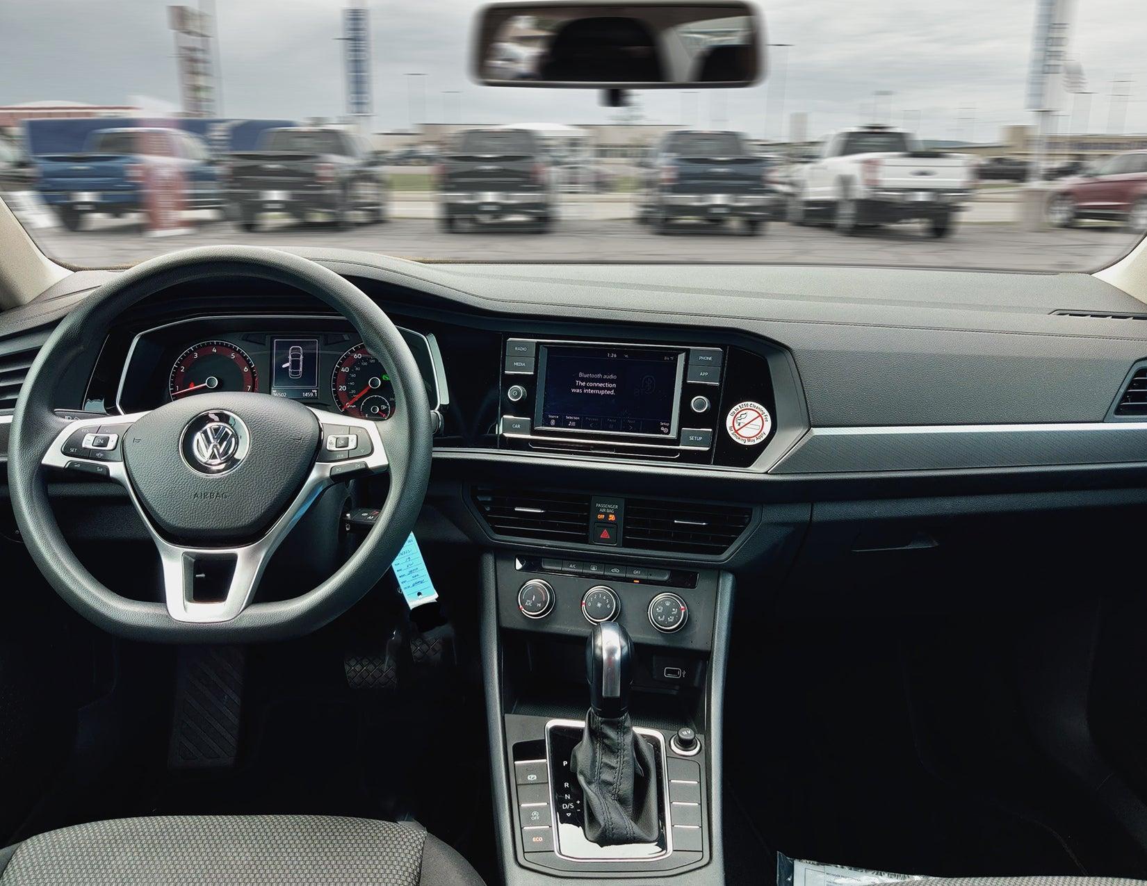 VW Jetta Interior Shot